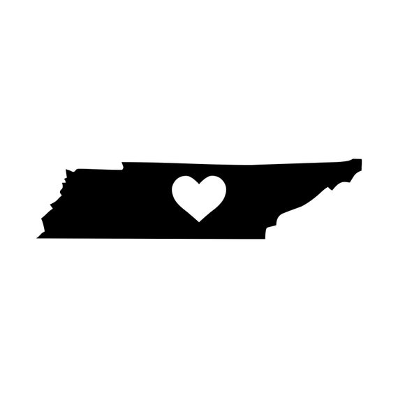 TENNESSEE Street Sign Vinyl Decal Sticker tn city state us wal I LOVE NASHVILLE