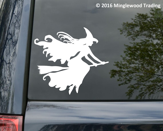 Car stickers in your desired colour previously had Witches Broom today go