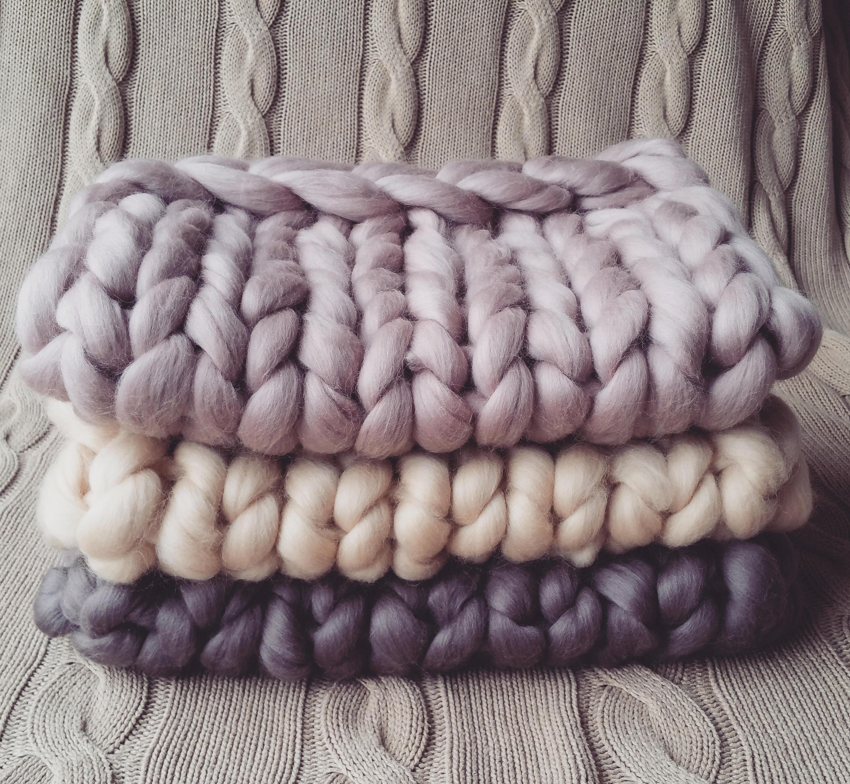 Newborn wool blanket basket stuffer bump blanket newborn photo prop hand knitted blanket merino wool blanket chunky wool blanket