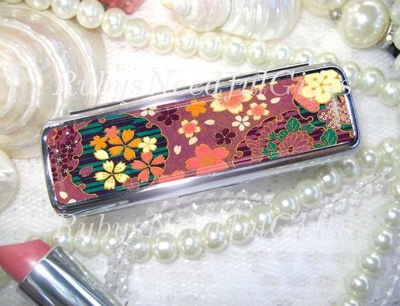 Oriental Lipstick Case Holder With