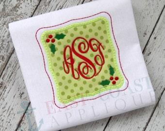 CHRISTMAS FRAME machine embroidery design