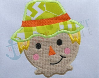 SCARECROW machine embroidery design