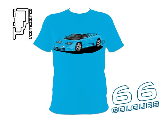 d2df6e40657 Bugatti EB110 GT Super Sport PERSONALISED T-Shirts up to 66