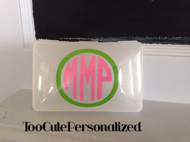 Personalized Pacifier Crayon First Aid Kit Case