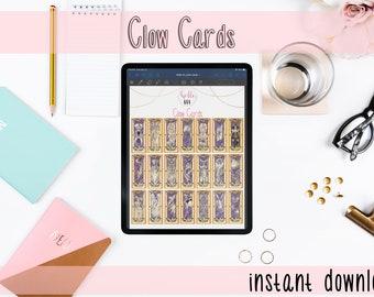 Card Capture Sakura Clow Card  - Digital GoodNote Stickers | Digital Washi Tape + More