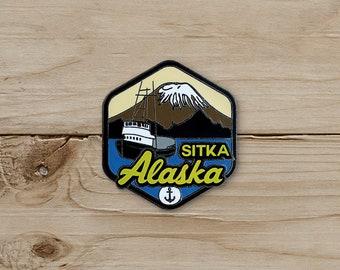 Sitka, Alaska Pin / Pin Collection / Lapel Pin Collecting