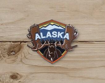 Moose, Alaska Pin / Pin Collection / Lapel Pin Collecting
