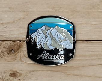 Denali Mountain Walking Stick Medallion / WSM Collection