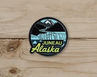 Juneau, Alaska Pin / Pin Collection / Lapel Pin Collecting
