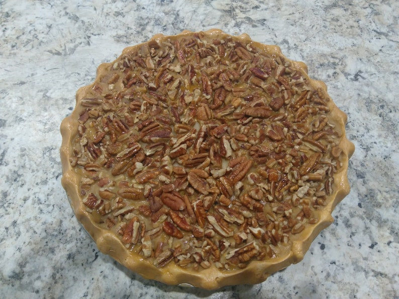 FAKE  Pecan Pie 9 Inch  Looks and smells like just image 0