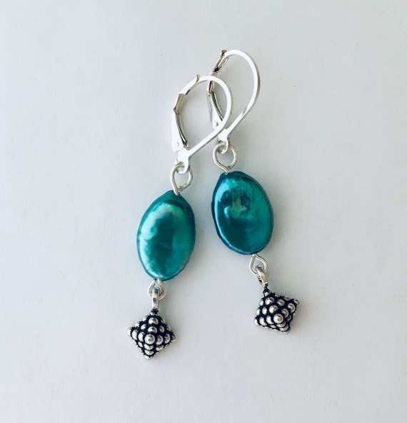 Ovarian Cancer Jewelry Supports The Teal Foundation Genuine Etsy