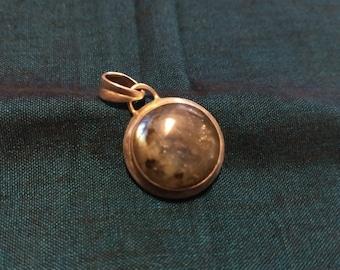 Labradorite and Sterling pendant