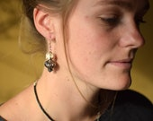 Vertebrae Real Bone Earrings