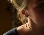 Journey Real Bone Earring...