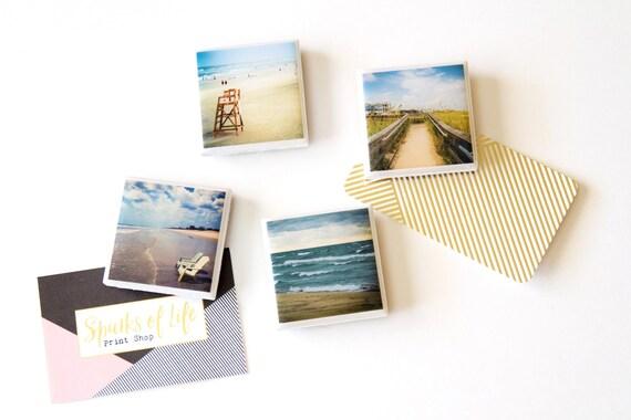Beach Magnets Decor Mini Photo Nautical