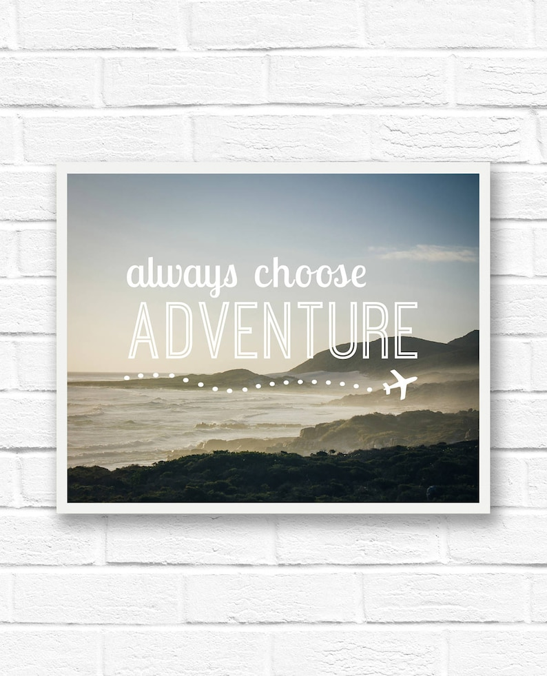 Traveler Gift Printable Quotes South Africa Travel Photo Etsy