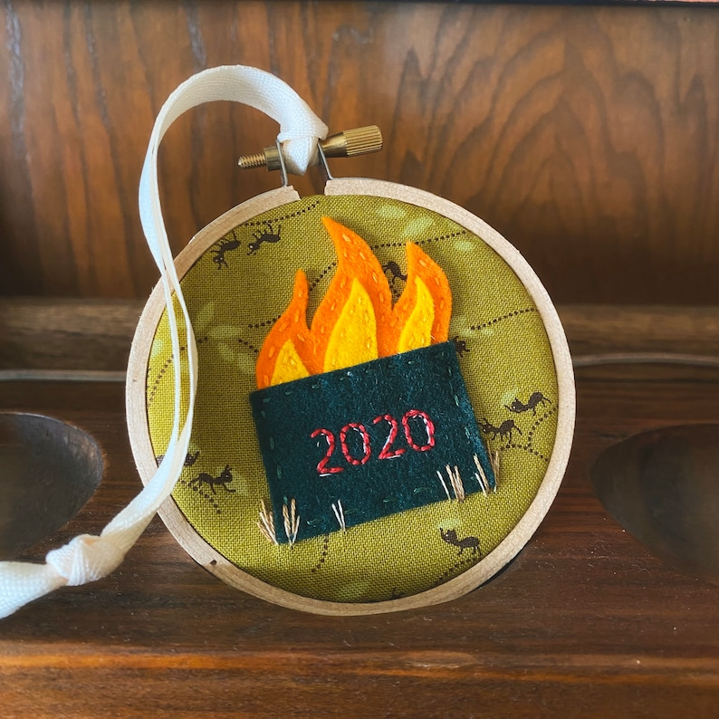 MADE TO ORDER 3 round Dumpster Fire 2020 image 0