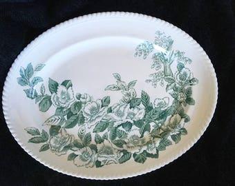 Johnson Bros. Apple Blossom Platter