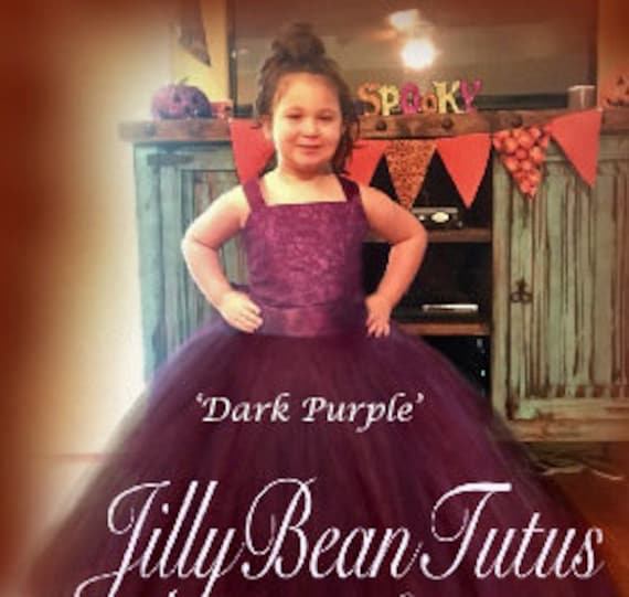 b281ed692 Purple Halloween Dress for girl sizes newborn to 11 years