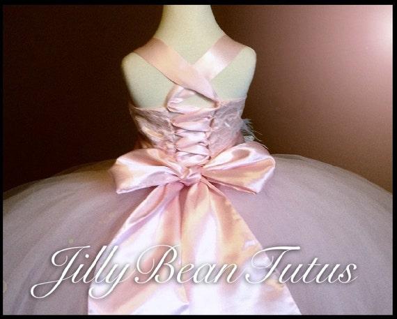 fa6ea3f4e FLOWER GIRL DRESS pink