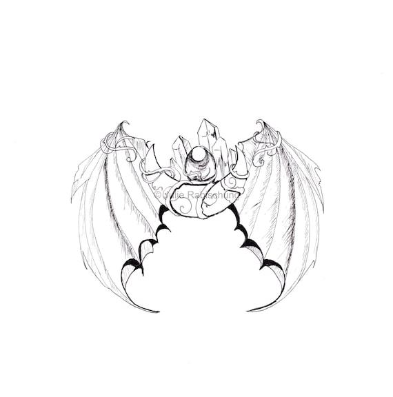 Dragon Coloring Pagedigital Printable Coloring Etsy