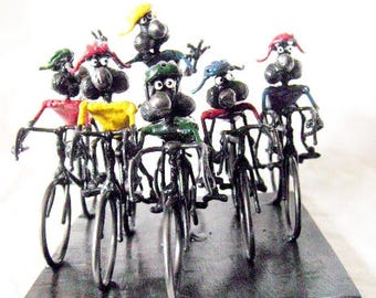 Mouse Tour De France Bicycle Race