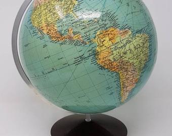 1950s globe etsy 1950s earth globe mid century globe vintage world globe world globe globe made in germany antique globe gumiabroncs Gallery