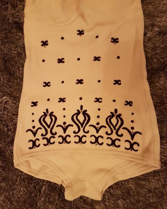 Fabulous 1950s Knitted Swimsuit- Viva Las Vegas- … - image 3