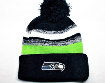 7674041918b Navy Lime Green Wht. 3 Blended colors! Unisex! Great Quality! Heat Applied  Logo Made from LICENSED Fabric