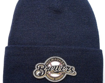 41bcca61bc9 Milwaukee Brewers Heat Applied Applique