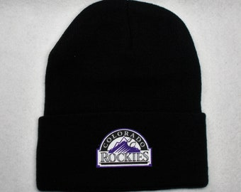 0bfc8238edf Colorado Rockies Heat Applied Applique