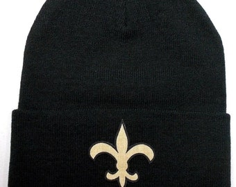 Our Logo is Crafted from New Orleans Saints Officially Licensed Fabric 368d74c727f