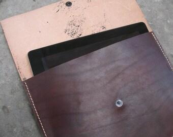 Porta Ipad in cuoio