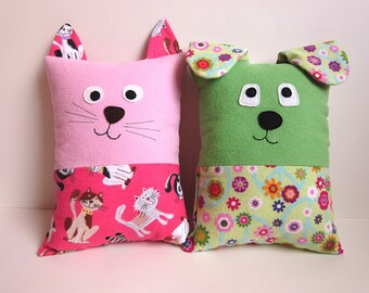 Stuffed Cat Pillow Tutorial Funky Kawaii Cat Kitten Pdf Etsy