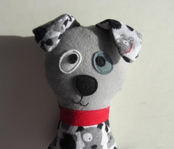 Dog Sewing Pattern Scruffy the Stuffed Doggie PDF Sewing | Etsy