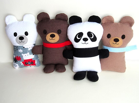 PATTERN Buddy Melly /& Me fun /& easy fabric bear PATTERN