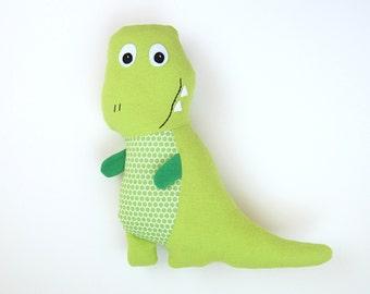 Tony T-Rex Pattern DIY Stuffed Dinosaur Toy and Baby Dinosaur Set, Tracy TRex Tutorial DIY Friendly Dinosaur Pdf Sewing Pattern