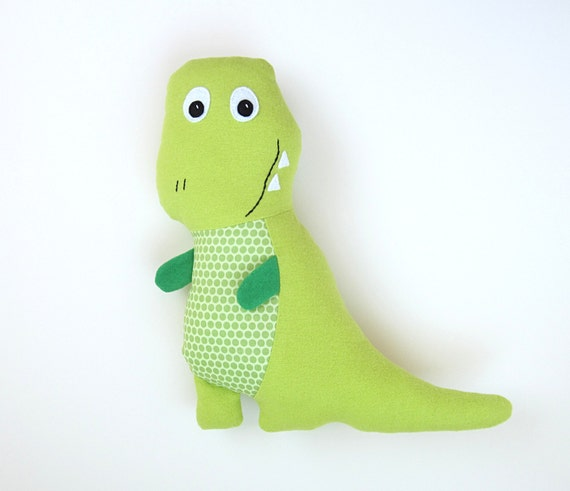 Tony T Rex Pattern Diy Stuffed Dinosaur Toy And Baby Dinosaur Etsy