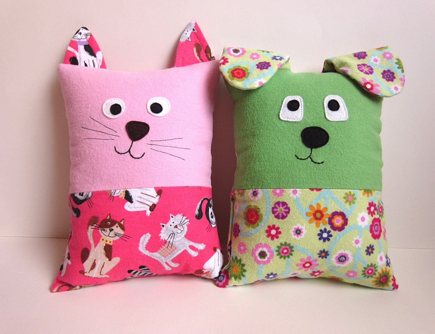 Dog & Cat Pillow Pattern Tutorial PDF Sewing Pattern with   Etsy