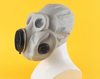 """Soviet Gas mask PBF-EO19 . This scary gas mask was made in Ussr. NEW in original bag. """"Gorilla"""" mask / Steam-punk / Air soft / Chernobyl"""