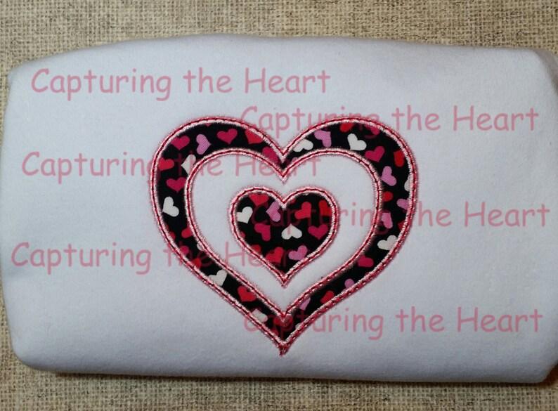 Baby hedgehog girl with heart applique design cute stitch design