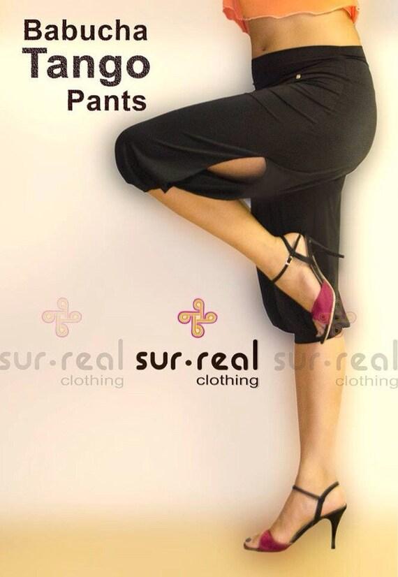 Pantalones Babucha Abiertos A Los Lados 3 4 Etsy