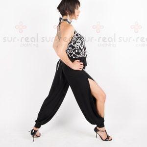 Pantalones Babucha Abiertos A Los Lados Etsy
