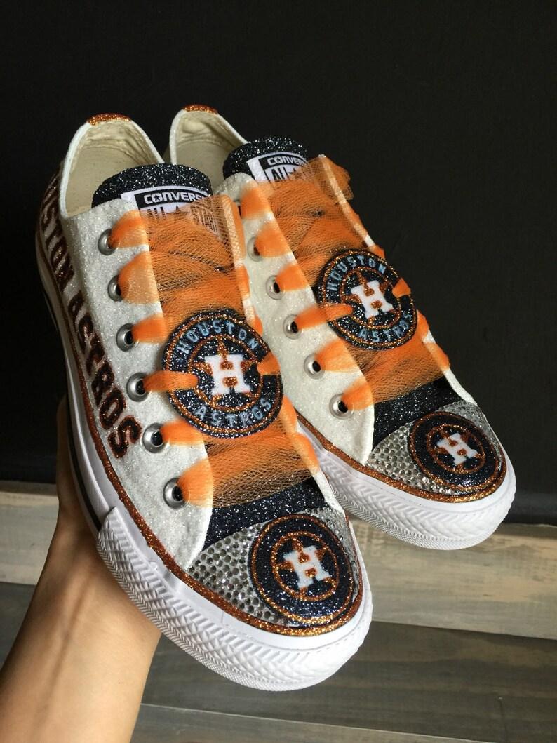 47392ba16a756 Astros customized Converse
