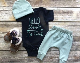1bd330696 Baby boy coming home outfit