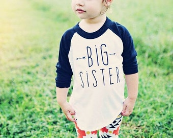 Big Sister Shirt, big sis shirt, little sister shirt, sibling shirts, pregnancy announcement shirt, baby announcement shir