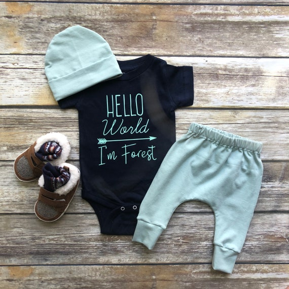 bdf78ef5954 Baby Boy Coming Home Outfit Newborn Boy Coming Home Outfit