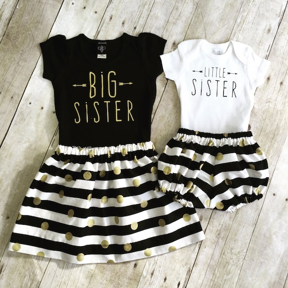 Big Sister Shirt Big Sister Little Sister Outfit Big Etsy