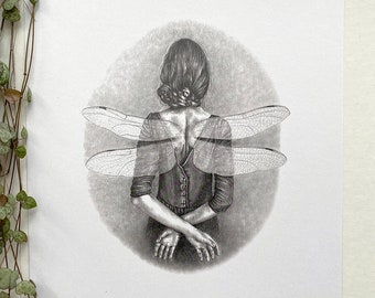 Poster A4 size   Dragonfly