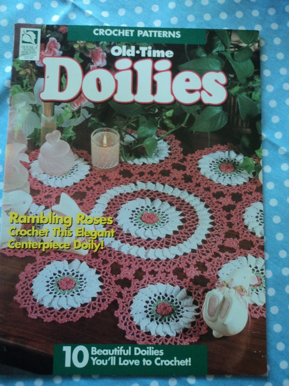 Crochet Patterns Old Time Doilies Etsy